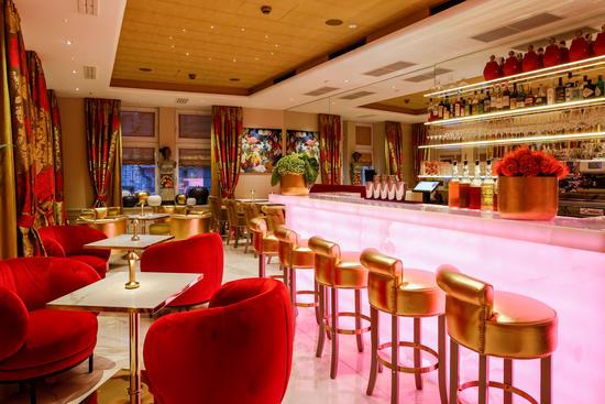 Edle Bar in der Mariahilferstraße in Wien