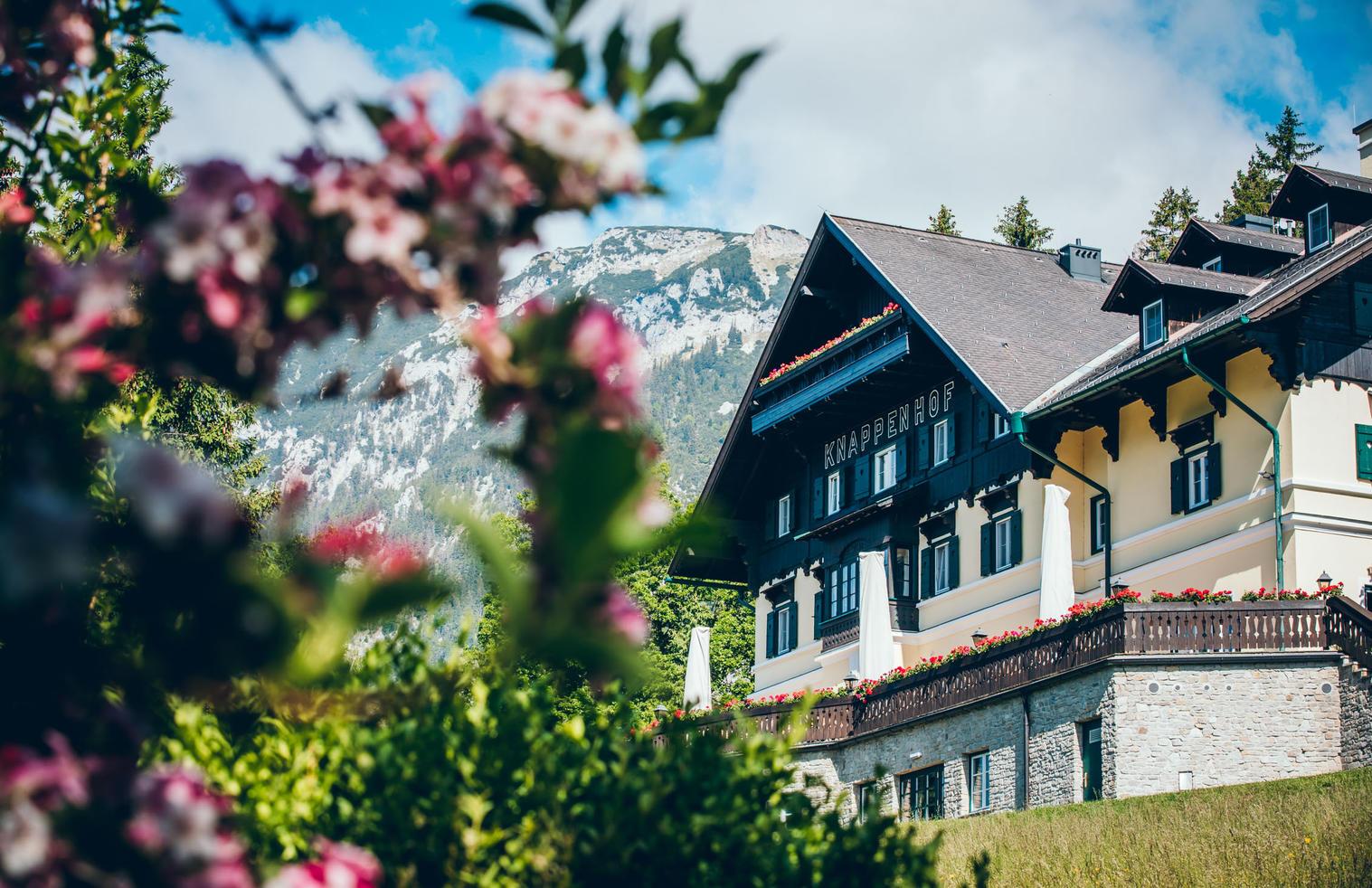 Aussenansicht Sommer Hotel Knappenhof