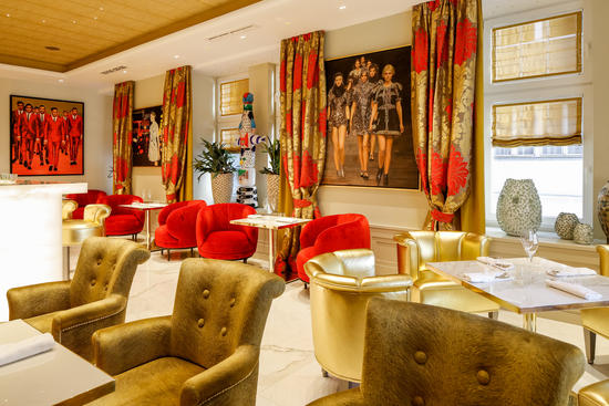 Hotellobby im Das Tyrol