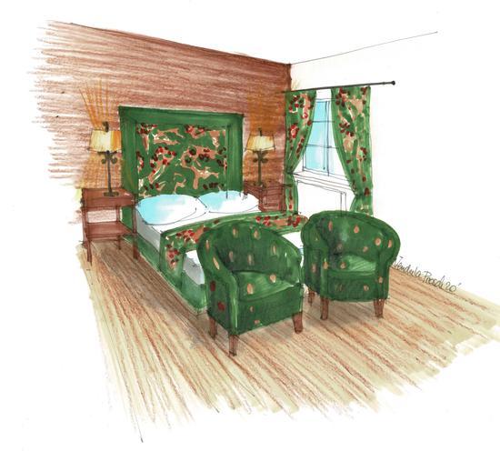 Zimmer im Hotel Knappenhof